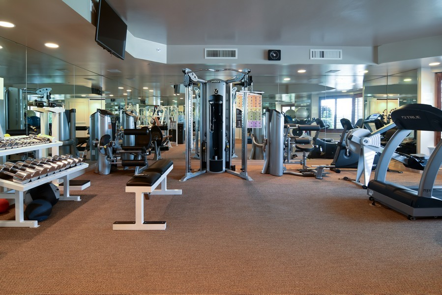 Real Estate Photography - 425 Beach Road, 7-O, Jupiter Island, FL, 33469 - Fitness Center