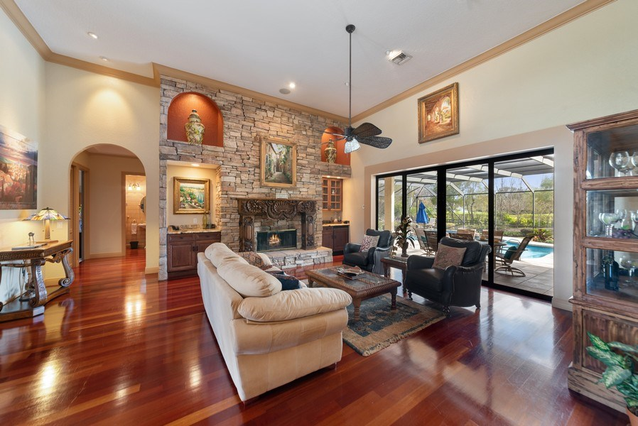 Real Estate Photography - 11208 88th Rd N, Palm Bch Gdns, FL, 33412 - Living Room