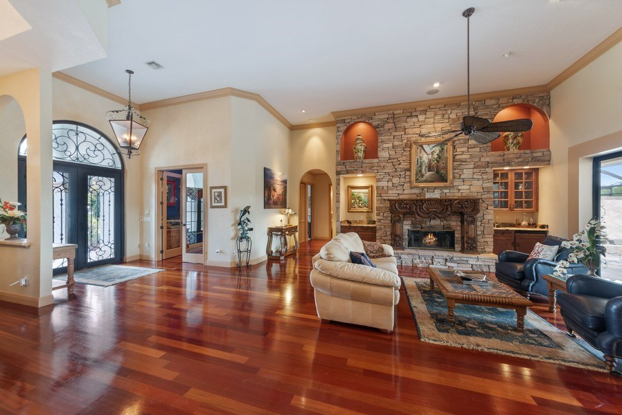 Real Estate Photography - 11208 88th Rd N, Palm Bch Gdns, FL, 33412 - Foyer/Living Room
