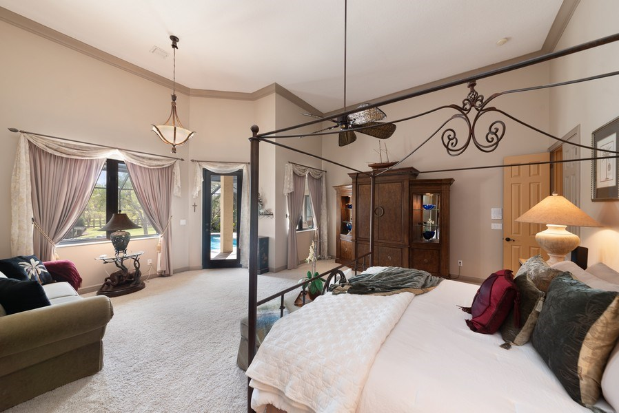 Real Estate Photography - 11208 88th Rd N, Palm Bch Gdns, FL, 33412 - Master Bedroom