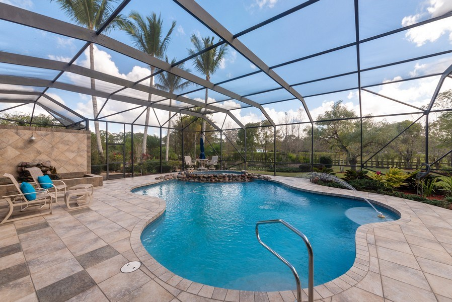 Real Estate Photography - 11208 88th Rd N, Palm Bch Gdns, FL, 33412 - Pool