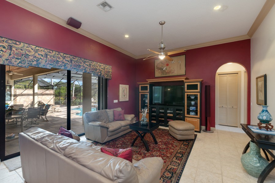 Real Estate Photography - 11208 88th Rd N, Palm Bch Gdns, FL, 33412 - Family Room