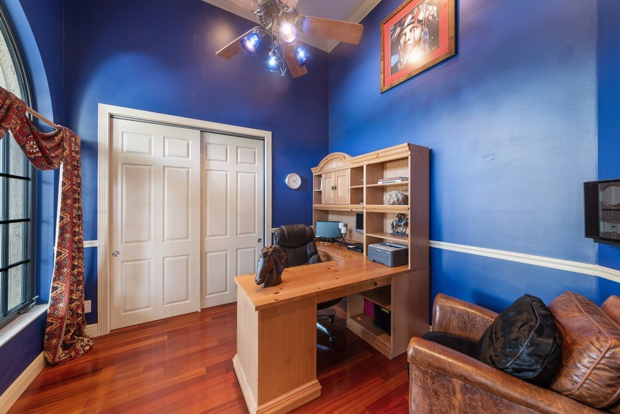 Real Estate Photography - 11208 88th Rd N, Palm Bch Gdns, FL, 33412 - Office