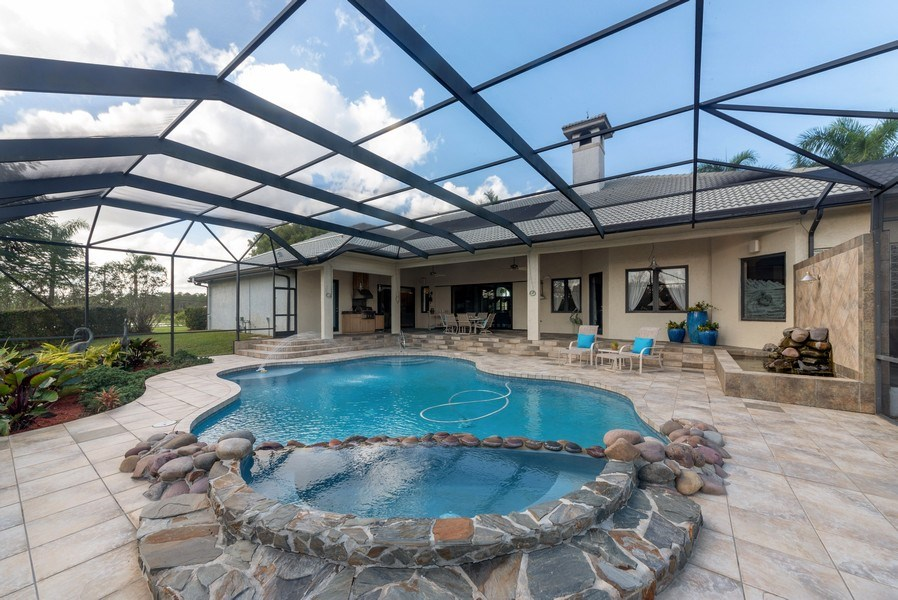 Real Estate Photography - 11208 88th Rd N, Palm Bch Gdns, FL, 33412 - Rear View