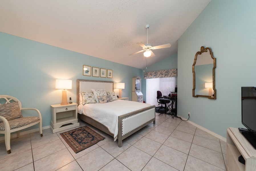 Real Estate Photography - 13 Elgin Ln, Palm Bch Gdns, FL, 33418 - Master Bedroom