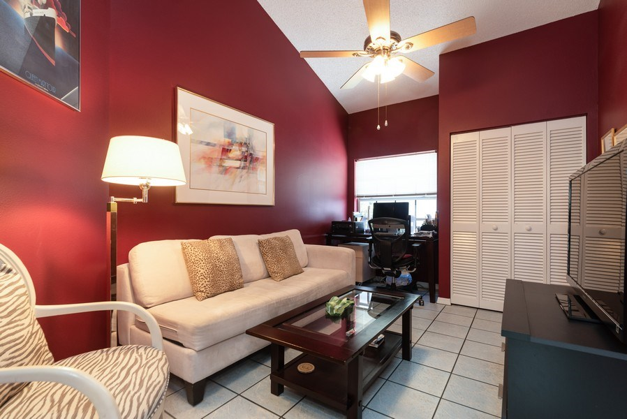 Real Estate Photography - 13 Elgin Ln, Palm Bch Gdns, FL, 33418 - Den