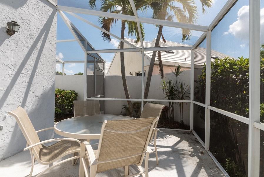 Real Estate Photography - 13 Elgin Ln, Palm Bch Gdns, FL, 33418 - Patio