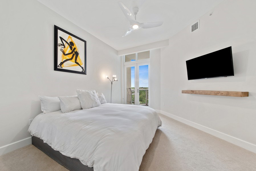 Real Estate Photography - 2720 Donald Ross Rd, Unit 502, Palm Beach Gardens, FL, 33410 - Bedroom
