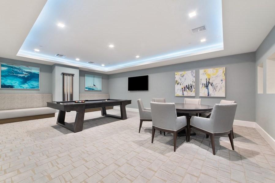 Real Estate Photography - 2720 Donald Ross Rd, Unit 502, Palm Beach Gardens, FL, 33410 - Recreational Room