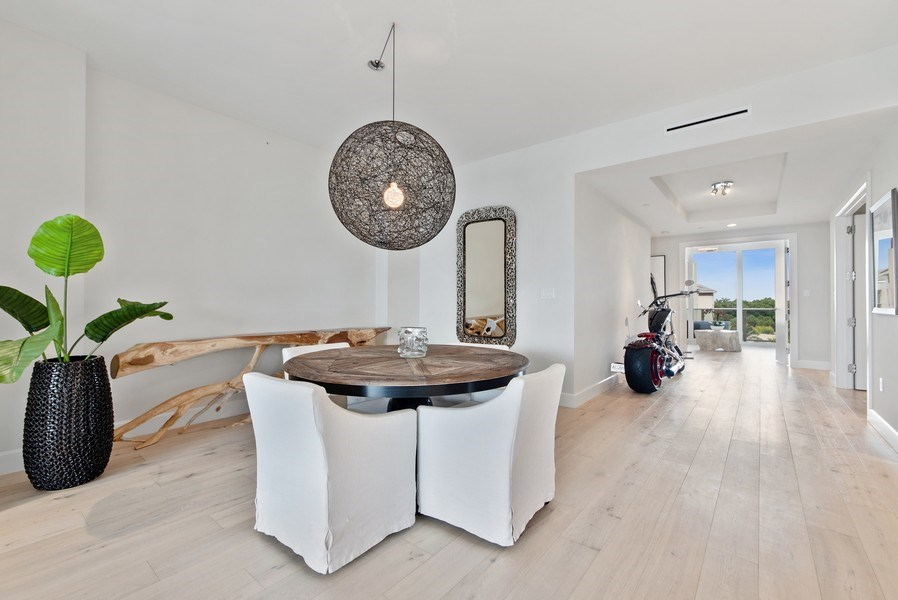 Real Estate Photography - 2720 Donald Ross Rd, Unit 502, Palm Beach Gardens, FL, 33410 - Dining Room