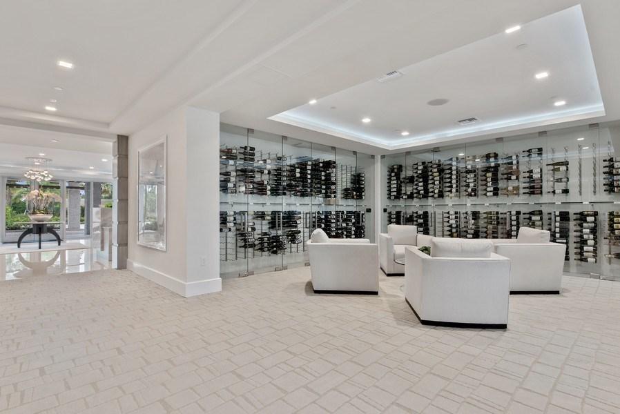 Real Estate Photography - 2720 Donald Ross Rd, Unit 502, Palm Beach Gardens, FL, 33410 - Wine Cellar