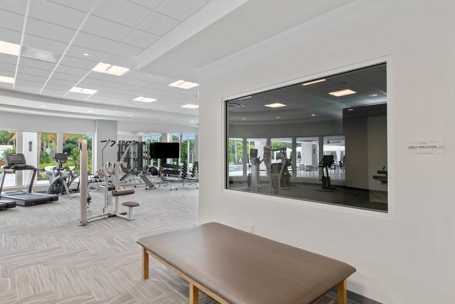 Real Estate Photography - 2720 Donald Ross Rd, Unit 502, Palm Beach Gardens, FL, 33410 - Fitness Center