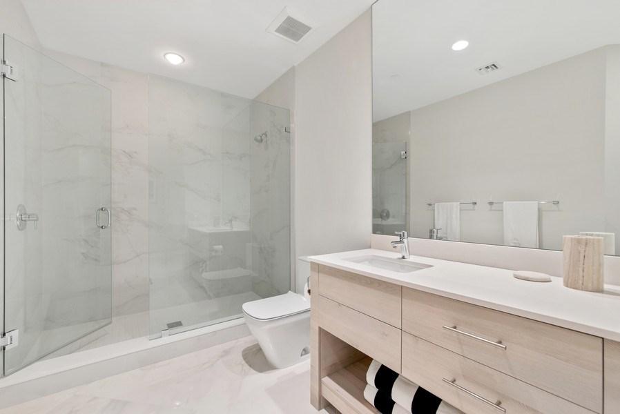 Real Estate Photography - 2720 Donald Ross Rd, Unit 502, Palm Beach Gardens, FL, 33410 - 2nd Bathroom