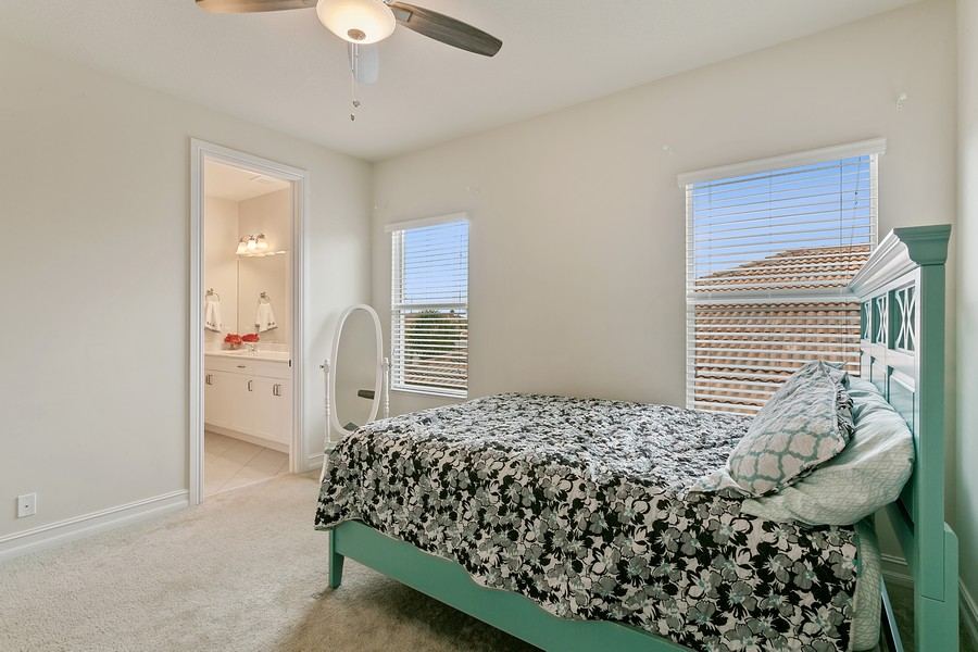 Real Estate Photography - 111 Lucia Ct, Jupiter, FL, 33478 - fourth bedroom