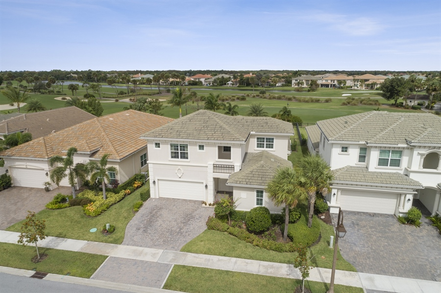 Real Estate Photography - 111 Lucia Ct, Jupiter, FL, 33478 - Aerial View