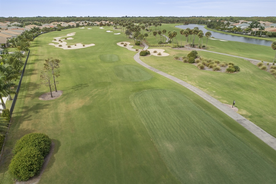 Real Estate Photography - 111 Lucia Ct, Jupiter, FL, 33478 - 13 TH hole Jupiter Country Club