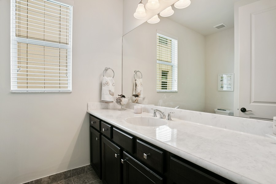 Real Estate Photography - 111 Lucia Ct, Jupiter, FL, 33478 - Powder Room