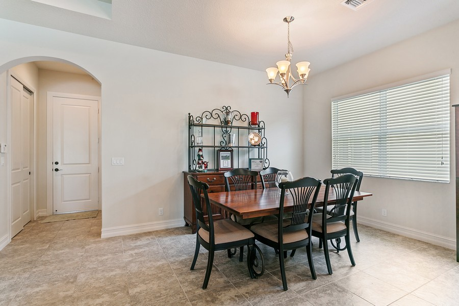 Real Estate Photography - 111 Lucia Ct, Jupiter, FL, 33478 - Dining Room