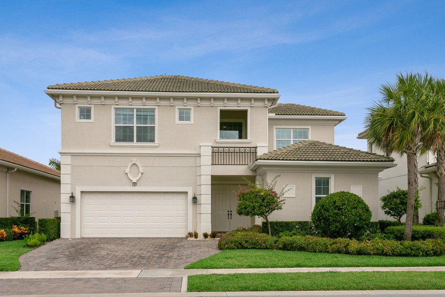 Real Estate Photography - 111 Lucia Ct, Jupiter, FL, 33478 - Front View