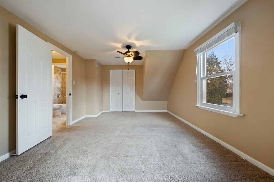 Real Estate Photography - 1S530 Marshall Rd, Oakbrook Terrace, IL, 60181 - Master Bedroom