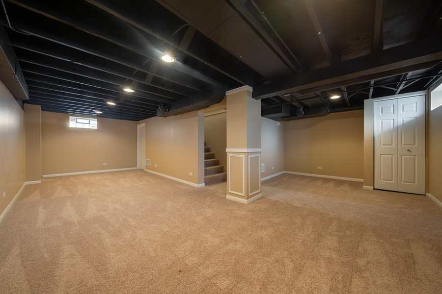 Real Estate Photography - 1S530 Marshall Rd, Oakbrook Terrace, IL, 60181 - Basement
