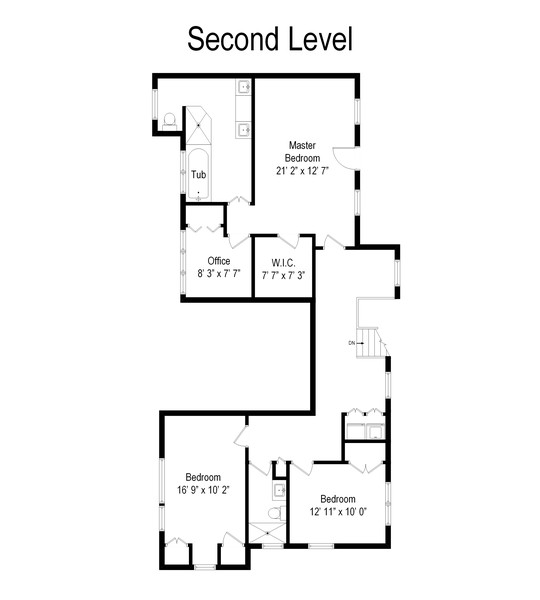Real Estate Photography - 1 Kassel Court, Mamaroneck, NY, 10543 - Floor Plan