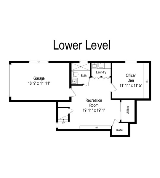 Real Estate Photography - 25 Vanderburgh Ave, Larchmont, NY, 10538 - Floor Plan