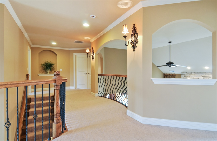Real Estate Photography - 582 Colchester, Oswego, IL, 60543 - Hallway