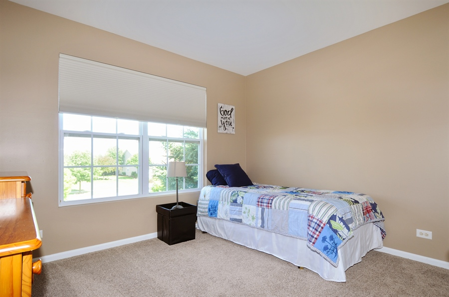Real Estate Photography - 2312 hobbs, Yorkville, IL, 60560 - 3rd Bedroom