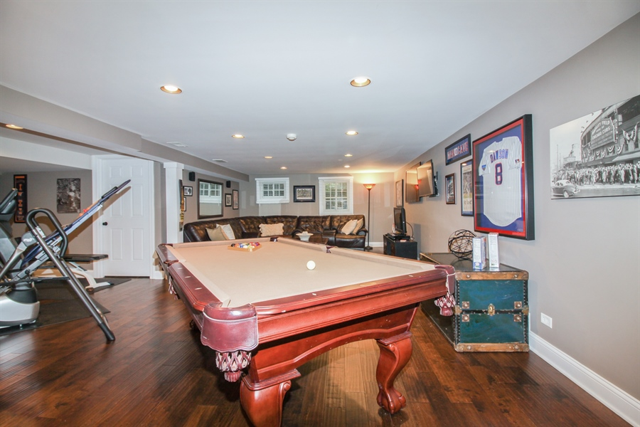 Real Estate Photography - 35 Bradford Ln, Oak Brook, IL, 60523 - Basement