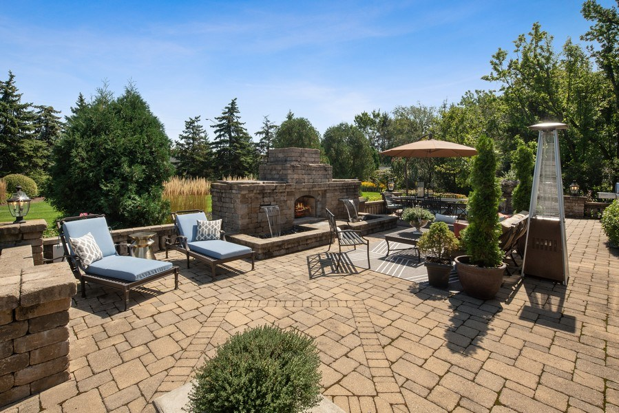 Real Estate Photography - 35 Bradford Ln, Oak Brook, IL, 60523 - Patio