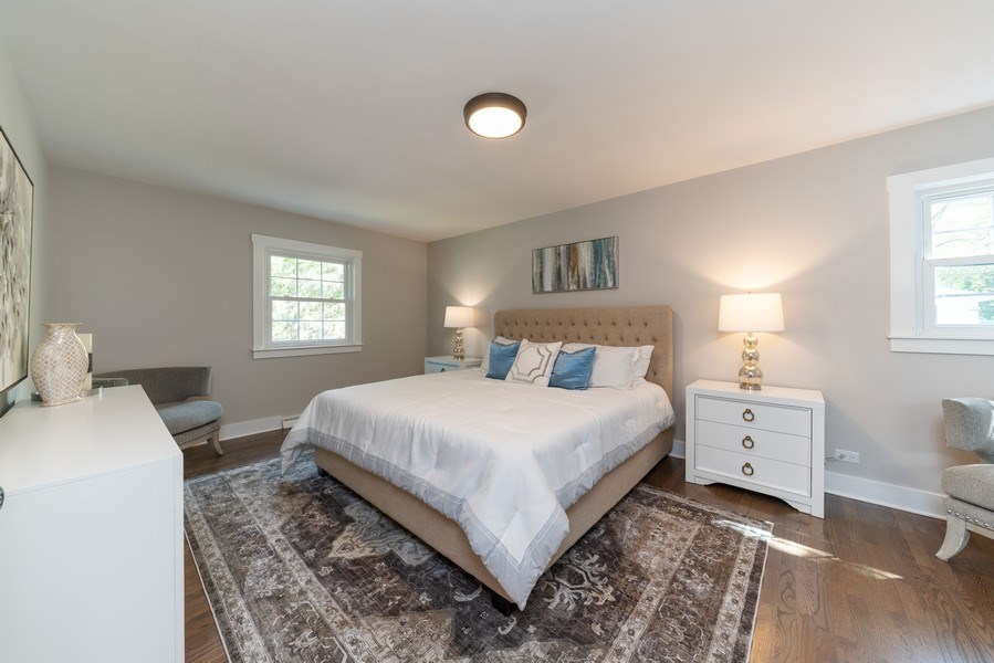 Real Estate Photography - 1245 Sandpiper Ln, Naperville, IL, 60540 - Master Bedroom