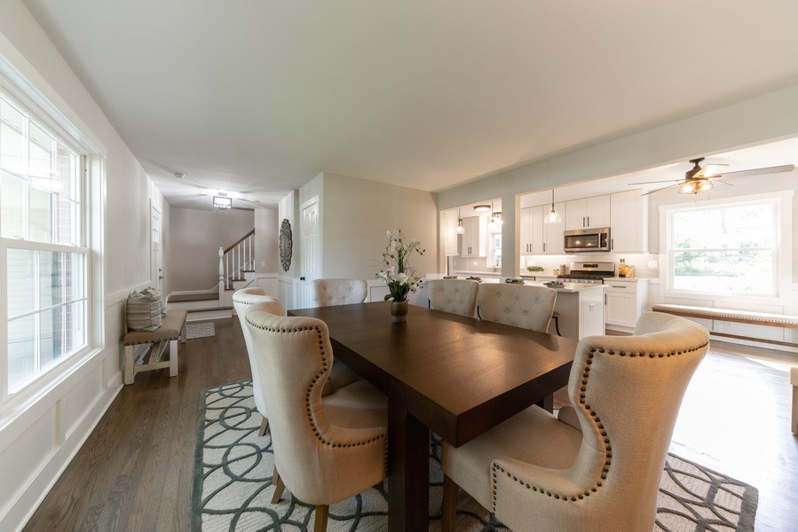 Real Estate Photography - 1245 Sandpiper Ln, Naperville, IL, 60540 - Dining Room
