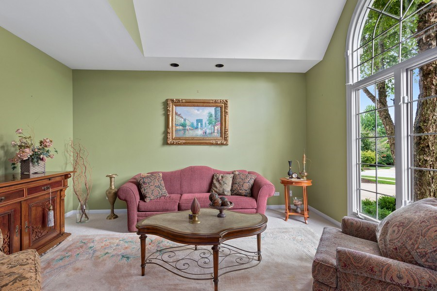 Real Estate Photography - 1063 Sandstone Court, Aurora, IL, 60502 - Living Room