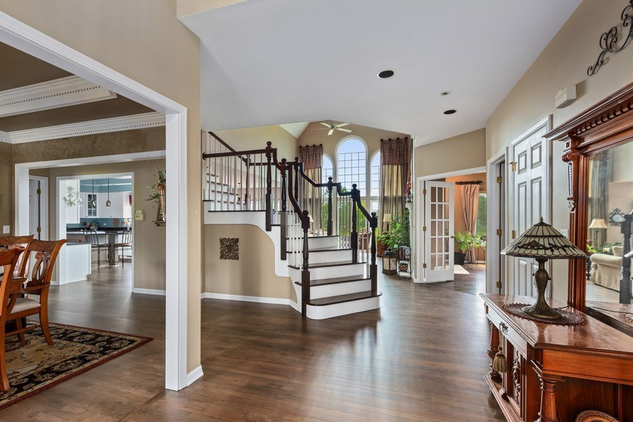 Real Estate Photography - 1063 Sandstone Court, Aurora, IL, 60502 - Foyer