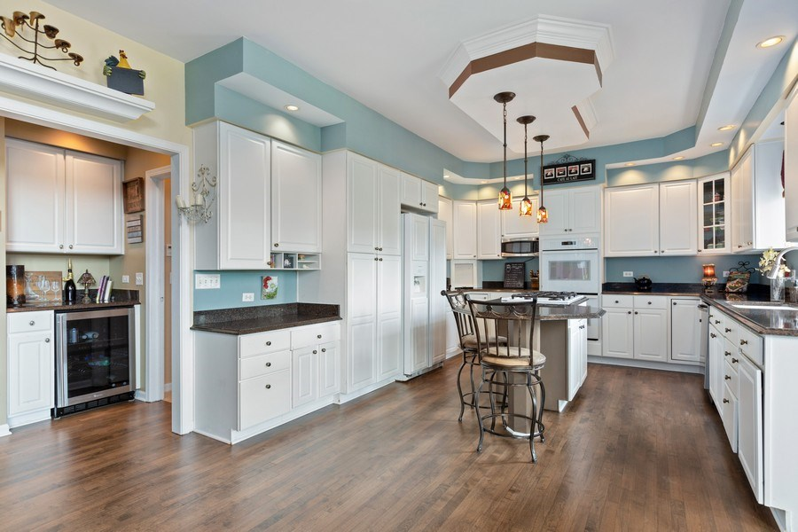 Real Estate Photography - 1063 Sandstone Court, Aurora, IL, 60502 - Spacious Kitchen & Butler's Pantry