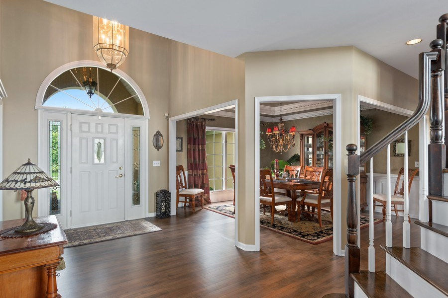 Real Estate Photography - 1063 Sandstone Court, Aurora, IL, 60502 - Entryway