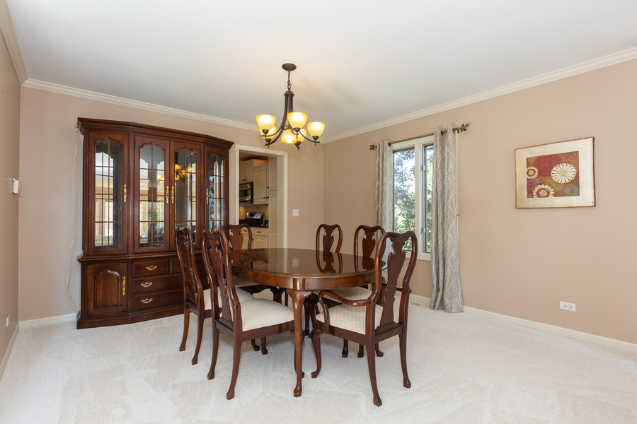 Real Estate Photography - 2743 Fairhauser Rd, Naperville, IL, 60564 - Dining Room