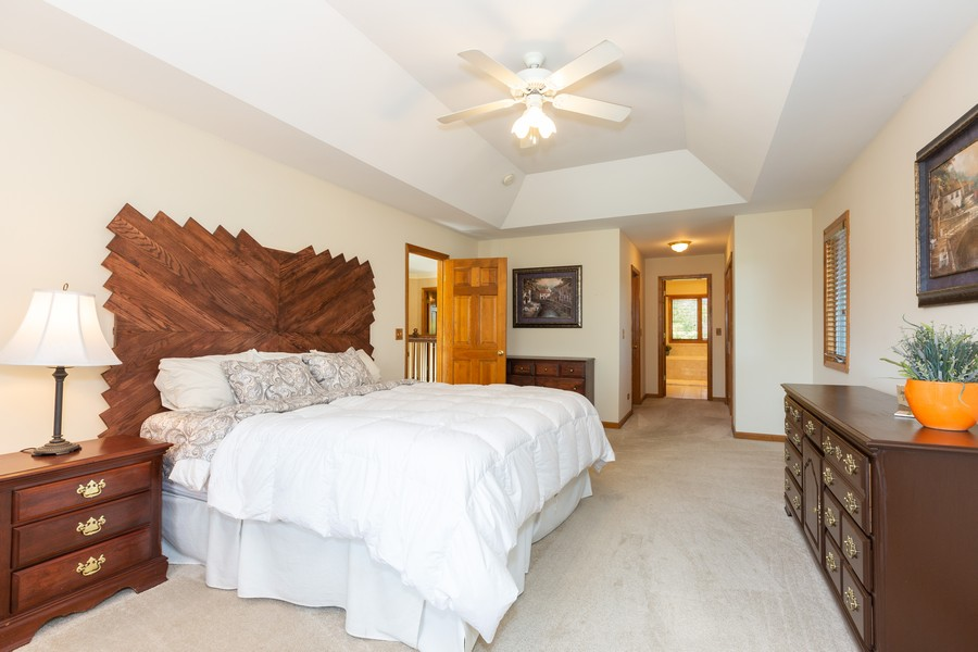 Real Estate Photography - 2743 Fairhauser Rd, Naperville, IL, 60564 - Master Bedroom