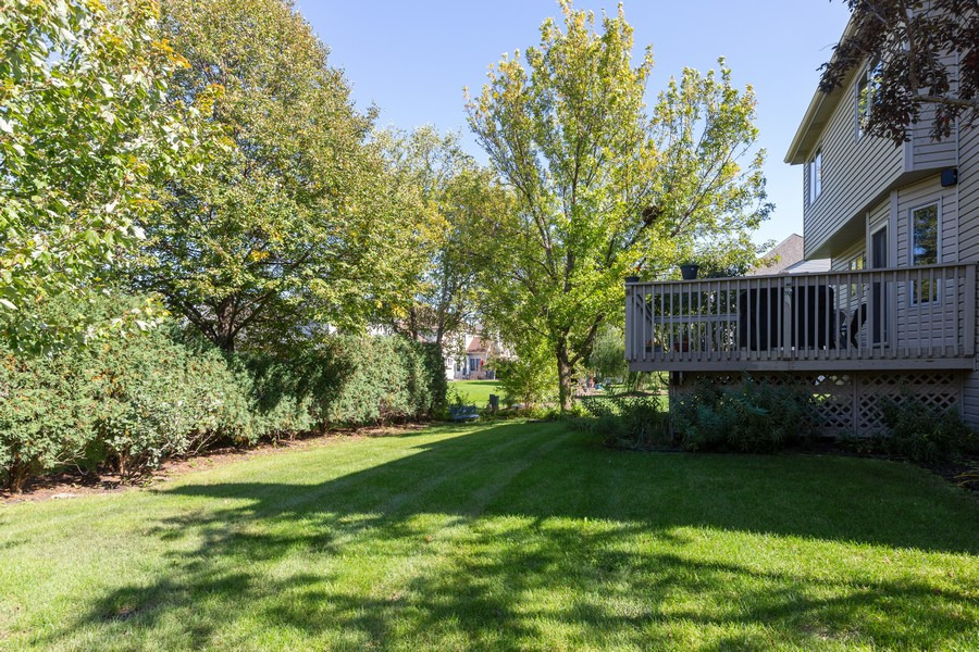 Real Estate Photography - 2743 Fairhauser Rd, Naperville, IL, 60564 - Back Yard
