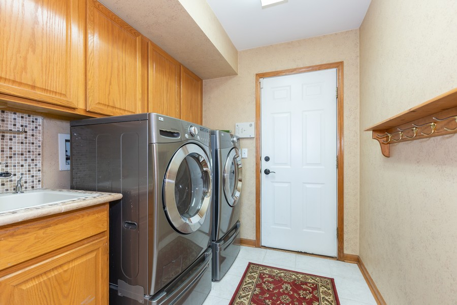 Real Estate Photography - 2743 Fairhauser Rd, Naperville, IL, 60564 - Laundry Room