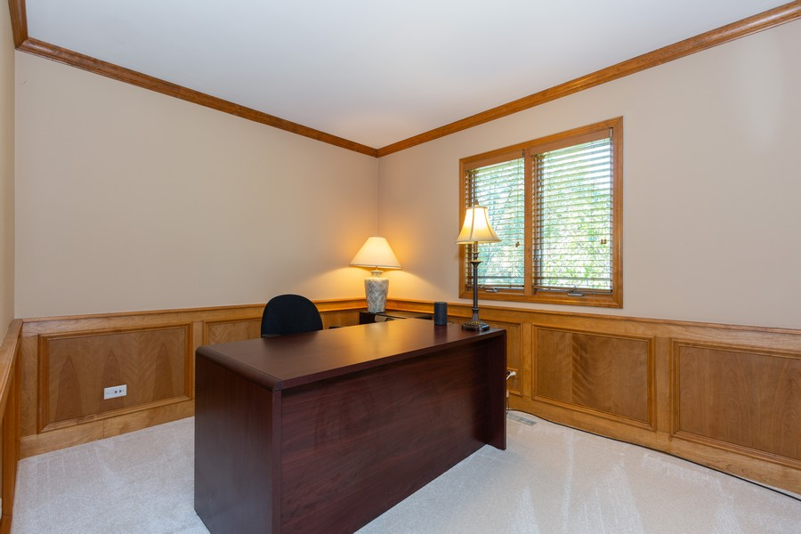 Real Estate Photography - 2743 Fairhauser Rd, Naperville, IL, 60564 - Office