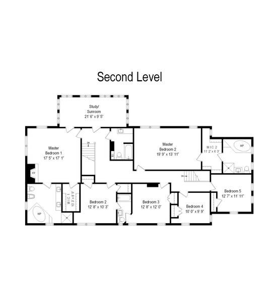 Real Estate Photography - 678 SHERIDAN, WINNETKA, IL, 60093 - Floor Plan