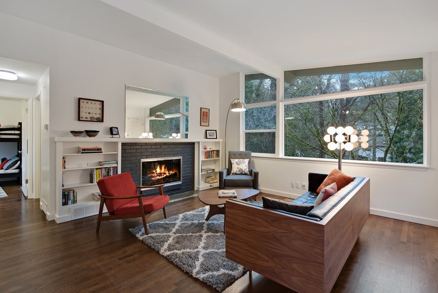 Real Estate Photography - 4552 151st Ave SE, Bellevue, WA, 98006 - Living Room