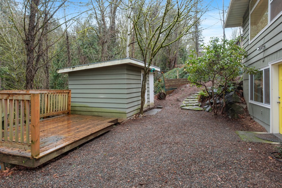 Real Estate Photography - 4552 151st Ave SE, Bellevue, WA, 98006 - Back Yard