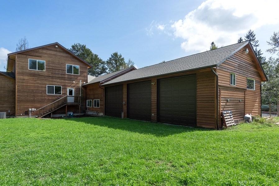 Real Estate Photography - 6416 97th Dr NE, Lake Stevens, WA, 98258 - Rear View