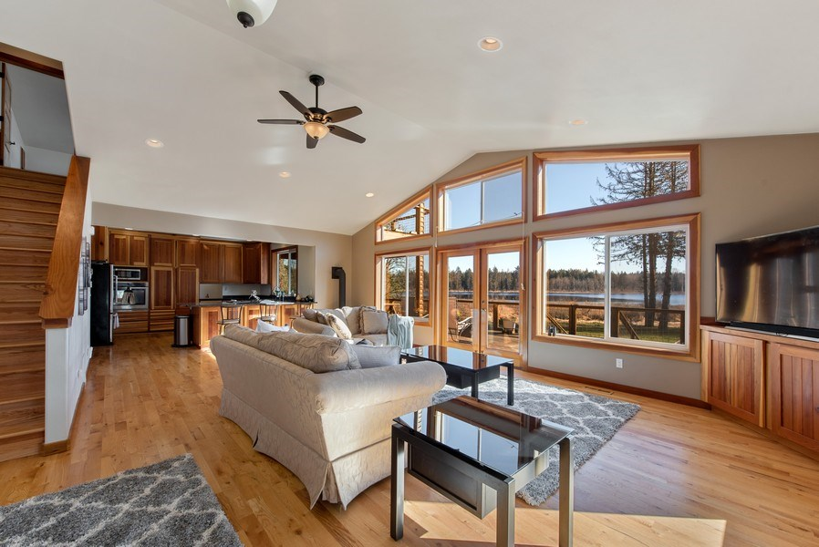 Real Estate Photography - 6416 97th Dr NE, Lake Stevens, WA, 98258 - Kitchen / Living Room