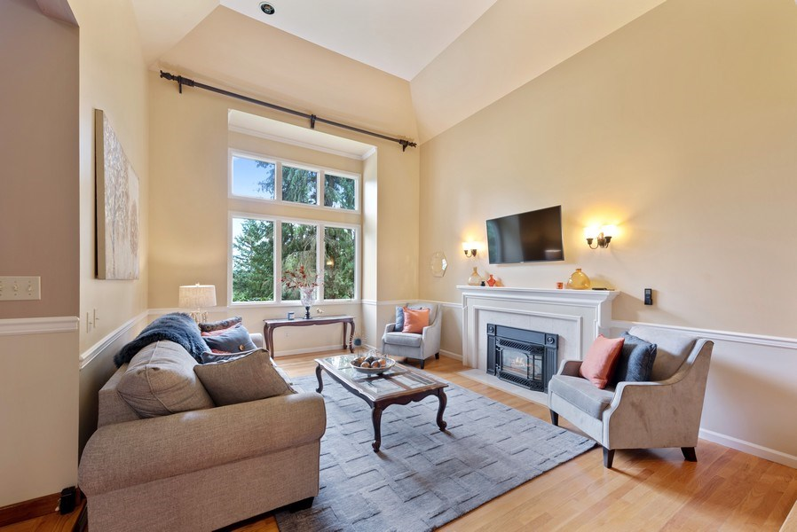 Real Estate Photography - 16620 NE 167th Ct, Woodinville, WA, 98072 - Living Room