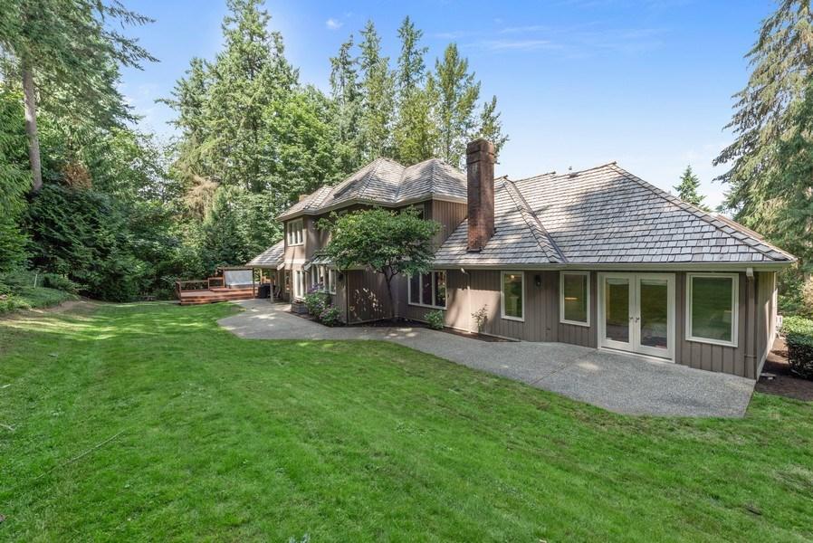 Real Estate Photography - 16620 NE 167th Ct, Woodinville, WA, 98072 - Back Yard