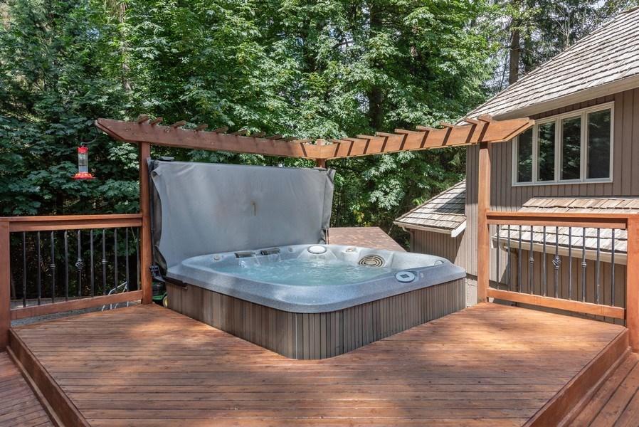 Real Estate Photography - 16620 NE 167th Ct, Woodinville, WA, 98072 - Deck